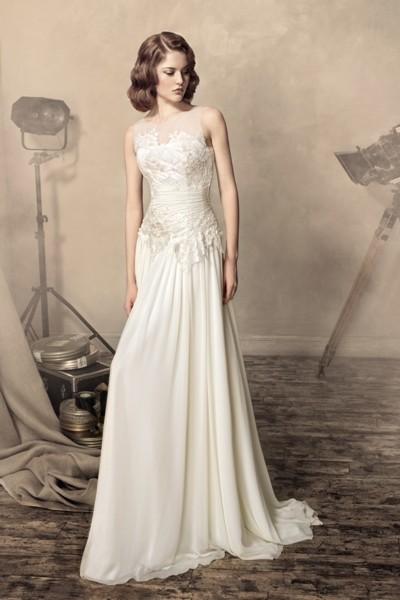 Wedding Saloon :: Свадебные платья в греческом стиле с накидкой