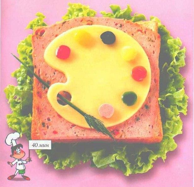 Как сделать самой бутерброды 19