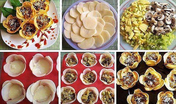 Горячее блюдо на стол праздничный стол рецепты